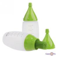 Комплект силиконовых мерных бутылочек для соусов Chef's Bottle Kit