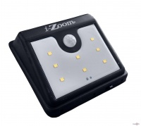 Вуличний LED світильник з датчиком руху на сонячній панелі Ever Brite (Эвер Брайт) - I-Zoom