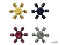 Металлический Hand spinner (Хенд спиннер) S-19 игрушка антистресс - finger spinner