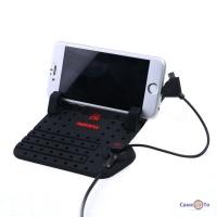 Автотримач для мобільного телефону з зарядкою Remax Superflexible Car Holder