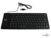 Гнучка силіконова комп'ютерна USB клавіатура UKC Flexible Keyboard