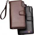 Мужской кожаный клатч-портмоне Baellerry Business
