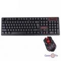 Бездротова ігрова клавіатура і миша для комп'ютера UKC HK-6500