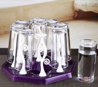 Подставка-сушилка для стаканов и чашек с держателями Kaiwen Cup Holder