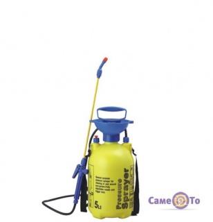 Ручной садовый ранцевый опрыскиватель Pressure Sprayer 5 л