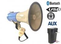 Рупор (мегафон) - переносний гучномовець HW-2501 Bluetooth