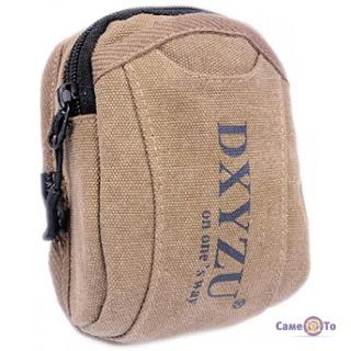 Чоловіча спортивна сумка на пояс з карабіном DXYZU