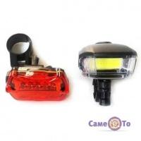 Велосипедный фонарь BL 508 (передний и задний)