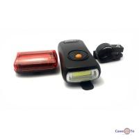 Велосипедний ліхтар BL-908 (передній і задній)