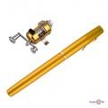 Вудка-ручка для риболовлі телескопічна Fishing rod in pen case