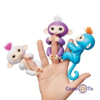 Интерактивная обезьянка WowWee, игрушка на палец