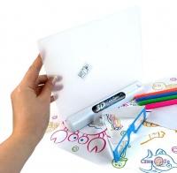 Дитяча електронна дошка для малювання маркером 3D Magic Drawing Board