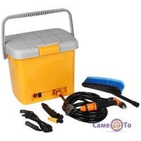 Портативная ручная автомойка от прикуривателя High Pressure Portable Car Washer
