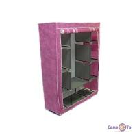 Портативна мобільна тканинна шафа для одягу Stylish portable simple wardrobe HCX-153NT