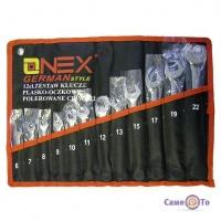 Професійний набір ріжкових і гайкових ключів Onex OX-233, 12 шт.