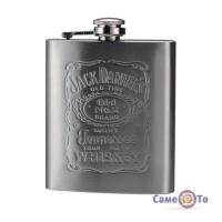 Плоска кишенькова фляга для алкоголю Jack Daniels (Джек Деніелс)