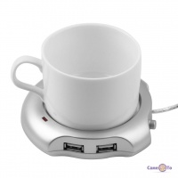 USB хаб - підставка нагрівач під чашку