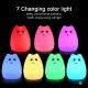 Світлодіодний LED світильник-нічник в дитячу кімнату Кішечка
