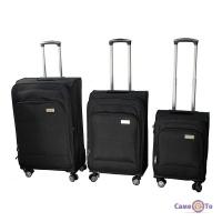 Набір дорожніх валіз на колесах LUGGAGE HQ, 3 шт.