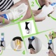 Дозатор зубної пасти з тримачем для щіток Jinxin-300 2 в 1