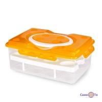 Лоток для яєць, пластиковий, на 24 шт