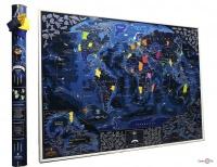 Карта мира со скретч слоем My Map Discovery Edition ENG