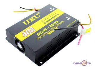 Инвертор-преобразователь напряжения автомобильный Power Converter 24-12V UKC I-Power