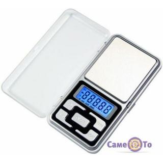 Кишенькові портативні електронні ваги Pocket Scale MH-100