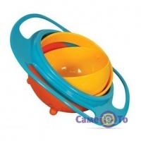 Дитяча тарілка непроливайка Gyro Bowl (Неваляшка)