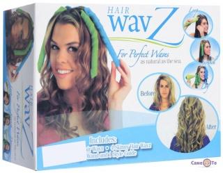 Бігуди спіральні Hair WavZ (Хейр Вейвз) 31-51 см.