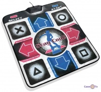 Танцевальный коврик Extreme Dance Pad TV+PC, музыкальный и развивающий