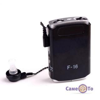Axon F 16 карманный слуховой аппарат - усилитель слуха, портативный