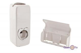 Автоматический дозатор зубной пасты и подставка для щеток