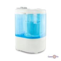 Міні пральна машина напівавтомат Home Club, пралка з вертикальним завантаженням
