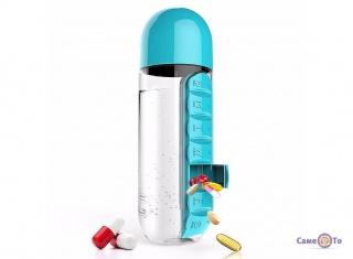 Таблетница органайзер для медикаментов Pill & Vitamin Organizer 2 в 1