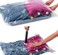 Вакуумний пакет для одягу 50x60 см.
