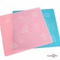 Силіконовий килимок для випічки та розкатування тіста 29x26 см.