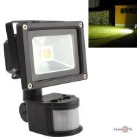 Світлодіодний LED прожектор з датчиком руху - PIR LED Flood Light 20W