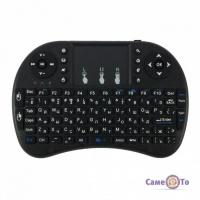 Бездротова міні клавіатура з тачпадом Rii mini I8