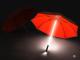 Зонт трость с подсветкой и фонариком «Джедайский»