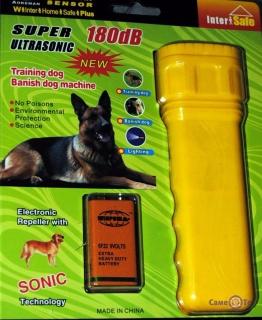 Отпугиватель собак Super Ultrasonic AD-100SH 180dB