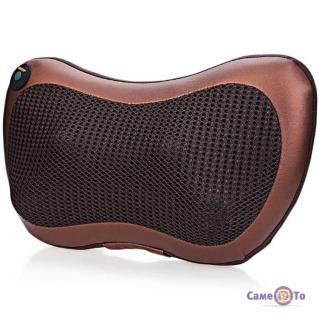 Автомобильная массажная подушка с роликами и инфракрасным прогревом Магия (модель CHM)