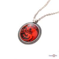 Медальон Игра Престолов - Дом Таргариенов House Targaryen