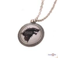 Медальон Игра Престолов - Дом Старков House Stark