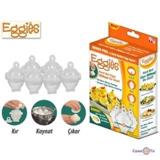 Форми для варіння яєць без шкаралупи «Eggies»