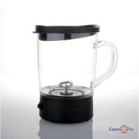Кружка-мішалка з кришкою Coffee Magic