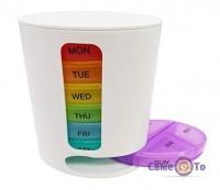 Контейнер-органайзер для таблеток, таблетниця Тиждень (Pillbox)