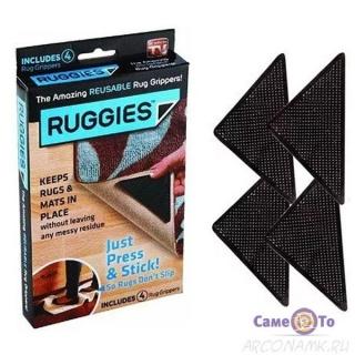 Тримачі для килимів на липучках Ruggies