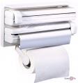 Кухонний органайзер для паперових рушників, харчової плівки і фольги Triple Paper Dispenser