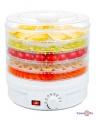 Електрична сушка для овочів і фруктів з терморегулятором 350 Вт